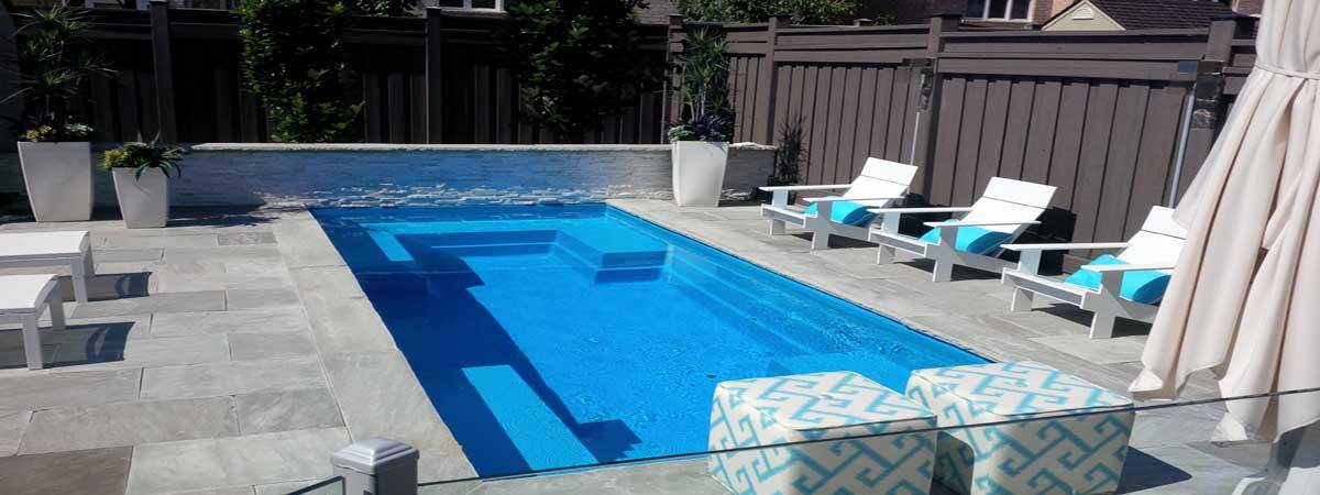 leisure pools of toronto fiberglass swimming pool installations and