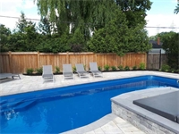 Fairlin Cres, Etobicoke, Toronto, Pool and Landscape Project