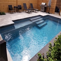 Crestview, Brampton, Ontario Pool and Landscape Project