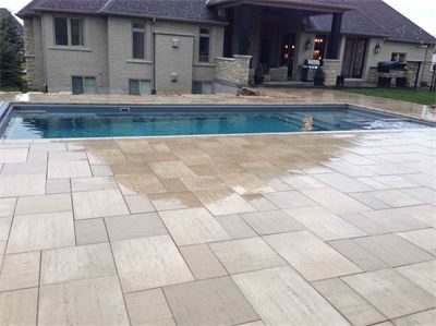 Guelph Pool/Landscape installation
