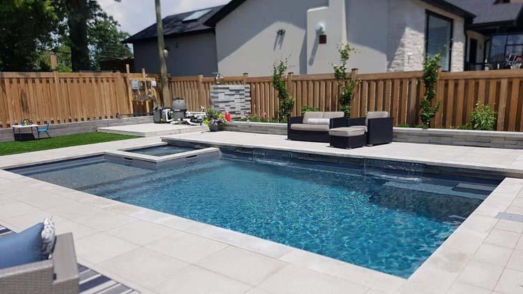 Winsap Place, Toronto Pool and Landscape Project